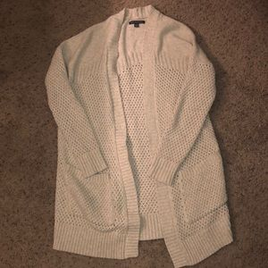 American Eagle Open Knit Long Sweater